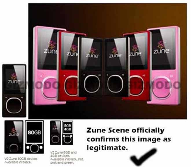 Next-Gen Zune Expected Next Month, Images Confirmed As Real