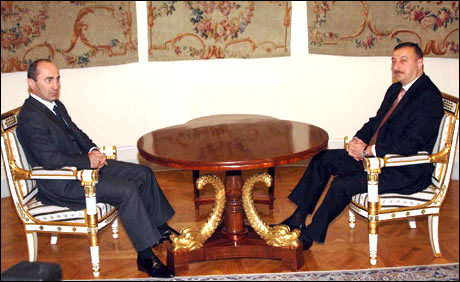 Meeting of Azerbaijan and Armenian presidents completed