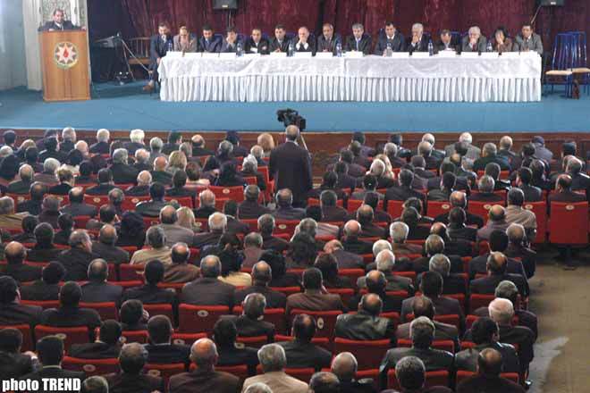 New Azerbaijan Party held forum