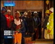3,000 workers trapped in  S. Africa mine(video) - Gallery Thumbnail