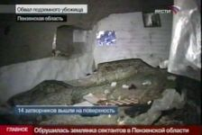 Fourteen members of Russian doomsday sect emerge from cave (video) - Gallery Thumbnail