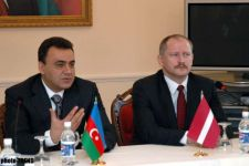 Azerbaijan   Latvia Sign Protocol on Results of Economic Commission Meeting - Gallery Thumbnail