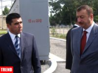 AZERI PRESIDENT VISITS SEVERAL FACILITIES IN AGDASH - Gallery Thumbnail