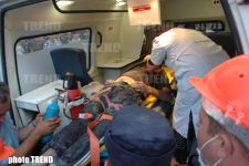 Additional Live Person Rescued from Collapsed Building in Baku (video) - Gallery Thumbnail