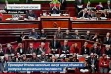"""Italy's president """"regrettably"""" dissolves parliament (video) - Gallery Thumbnail"""