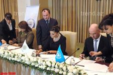 Heydar Aliyev Foundation to jointly with UNPF Carry Out a Project of Fight against Woman Violence - Gallery Thumbnail