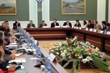 """Presentation of """"Transport Sector Development Strategy in Azerbaijan"""" took place at Transport Ministry - Gallery Thumbnail"""