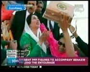 Bhutto arrives back in   Pakistan ending 8-year exile(video) - Gallery Thumbnail
