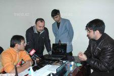 Автоши лицом к лицу с азербайджанской полицией - Gallery Thumbnail