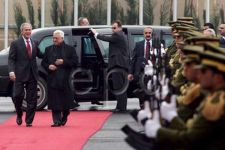Bush arrives in Ramallah for talks with Palestinian leaders (video) - Gallery Thumbnail