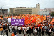 SANCTION RALLY OF �AZADLIG'BLOC TAKES PLACE - Gallery Thumbnail