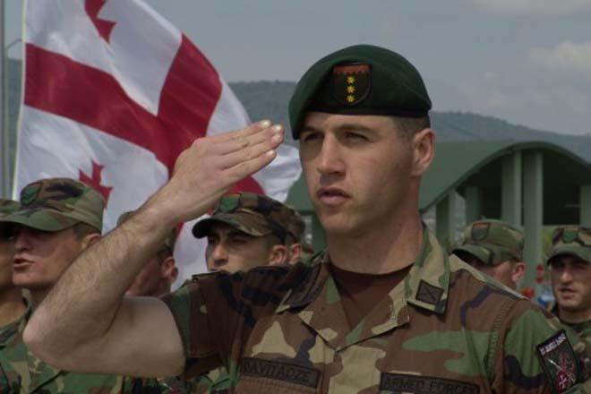 В Афганистане погиб офицер грузинского военного контингента