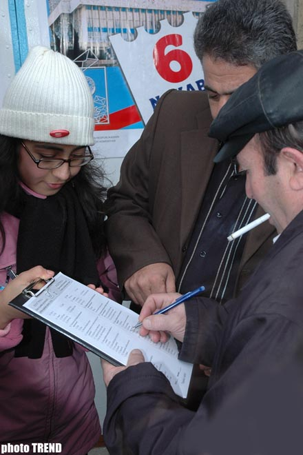 PA Government Services started exit poll in Azerbaijan at 08.00am [local time]