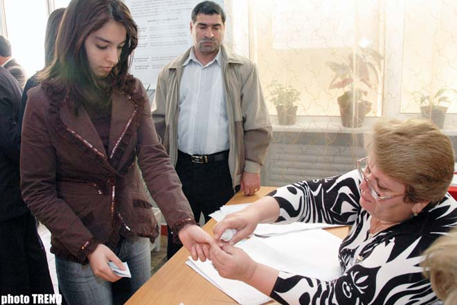 Re-run parliamentary elections in Azerbaijan  photosession - Gallery Image