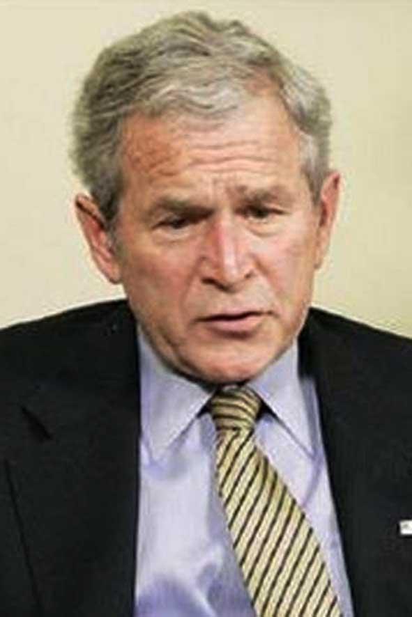 Bush warns of 'long and painful recession'