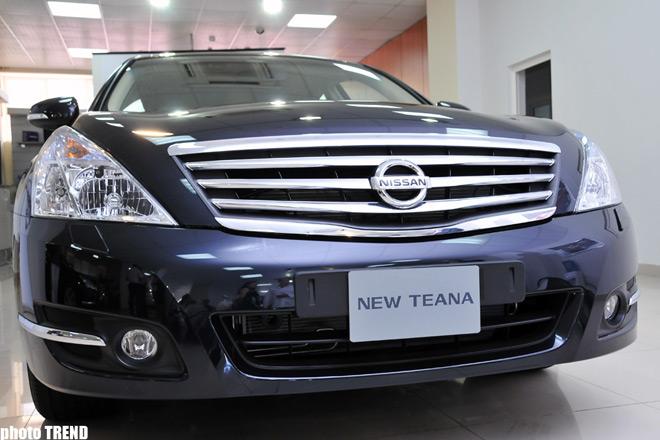 Nurgun Motors презентовал новую модель Nissan Teana