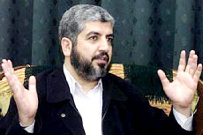 Hamas denies Syrian report about Mashaal