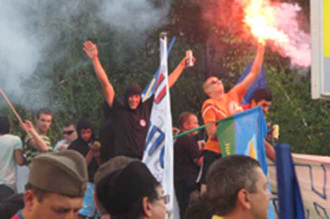 Some clashes as Serb extremists rally in Belgrade