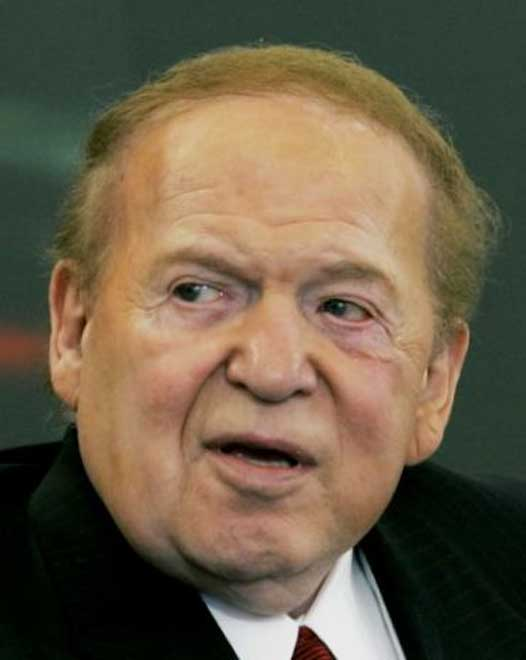 Republican casino magnate Adelson cautioned Trump on trade war with China
