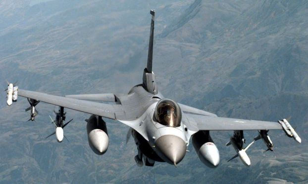 Syria ISIS militants train in three captured jets