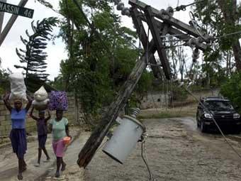 """""""Xanna"""" fırtınası nəticəsində Haitidə 60 nəfərdən çox ölən var"""