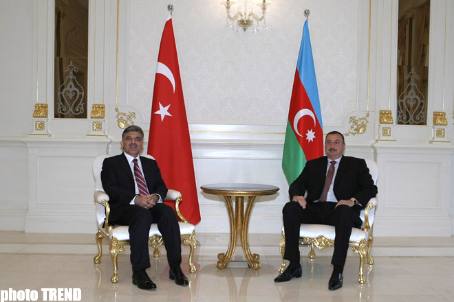 Meeting of Presidents of Azerbaijan and Turkey Takes Place in Baku