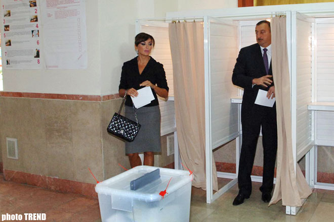 Exit-Poll Says Ilham Aliyev Passes Ahead of His Rivals by Majority: FTFEC
