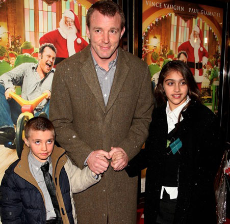 Guy Ritchie Seeks Daily Contact With Kids