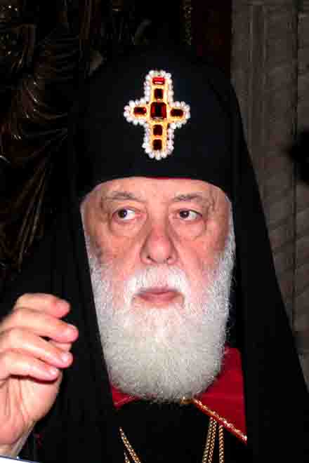 Georgian Patriarch to leave for Moscow to celebrate Russian Orthodox Church's Patriarch's anniversary