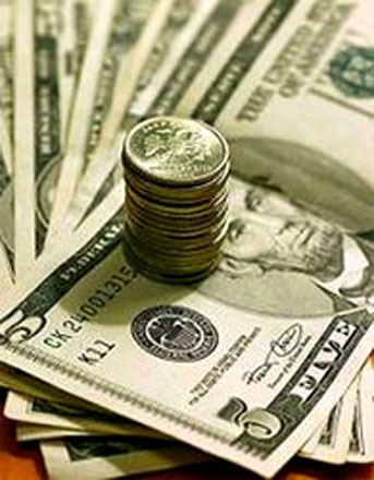 Western analysts' short-term forecasts on U.S. dollar rate