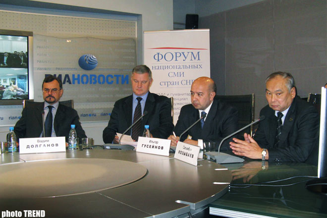 CIS National Media Forum Proves Its Efficiency: RIA Novosti Director for CIS and Baltic States