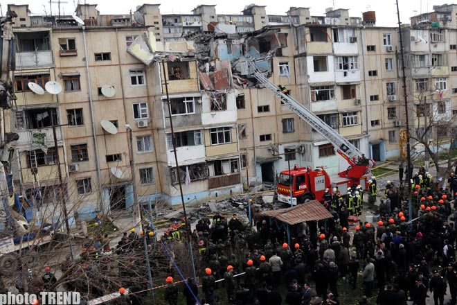 Condition of a girl injured in blast in Baku still grave (UPDATED 4)  (video) - Gallery Image