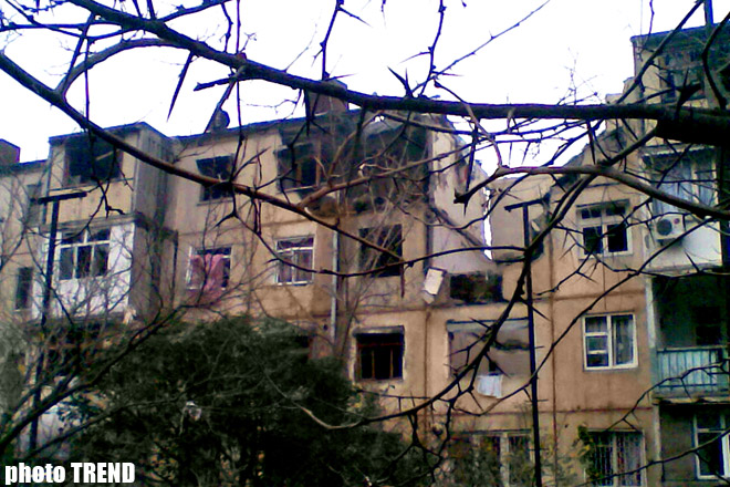Blast in bloc of flats in   Baku kills at least two, injures six, also one child (UPDATED 3)