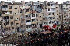 Condition of a girl injured in blast in Baku still grave (UPDATED 4)  (video) - Gallery Thumbnail