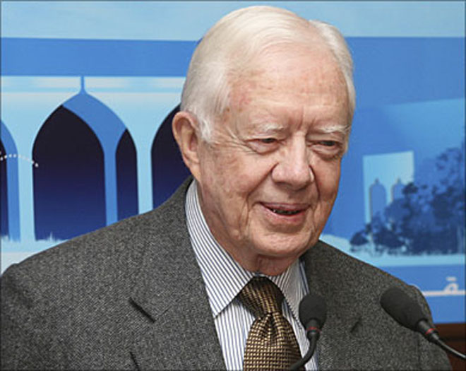 Jimmy Carter to arrive in DPRK later Wednesday