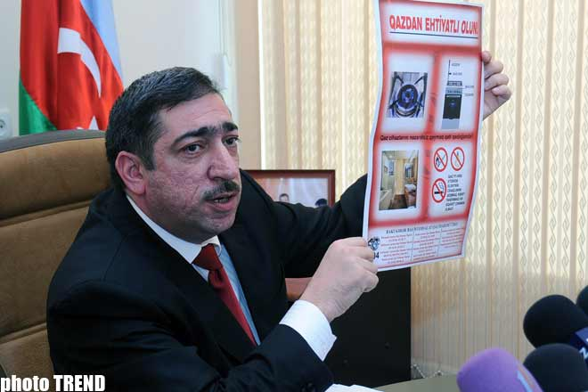 Consumer recklessness on gas-safety issues  causes most blasts: head of Bakgaz (video) - Gallery Image