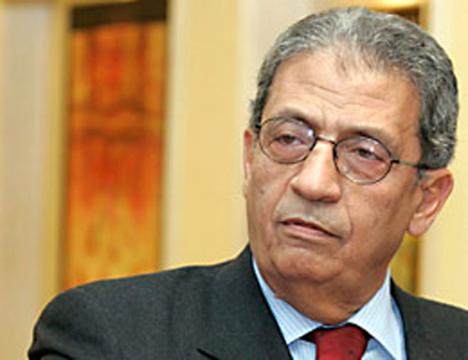 Amr Moussa sees the bright side of Gaddafi's demise