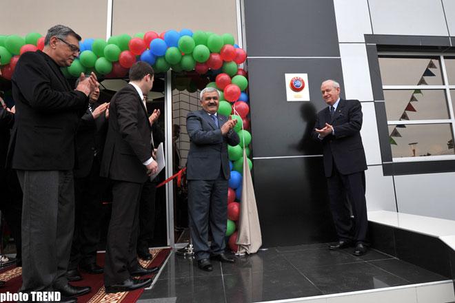 В Азербайджане состоялось открытие Футбольной академии (Видео) - Gallery Image