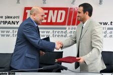 Azerbaijani Trend News and Iranian Mehr news agency sign partnership agreement - Gallery Thumbnail
