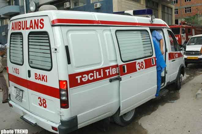 За полдня Бакинская станция скорой помощи получила около 250 вызовов