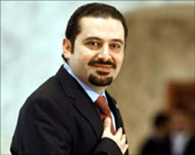 Lebanese PM voices support for Paris conference on Mideast peace