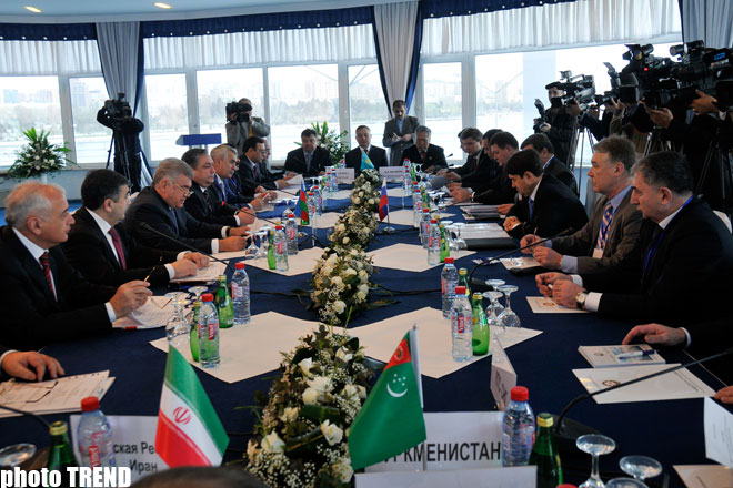 Russia, Turkmenistan ink international railway-ferry through service document  in Baku