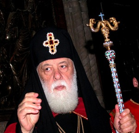 Georgian patriarch wants dialogue with Russia