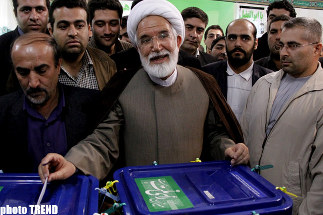 Iranian people vote in presidential elections: PHOTOSESSION - Gallery Image