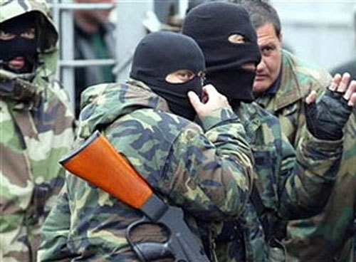 Russian security forces kill 8 militants in Dagestan