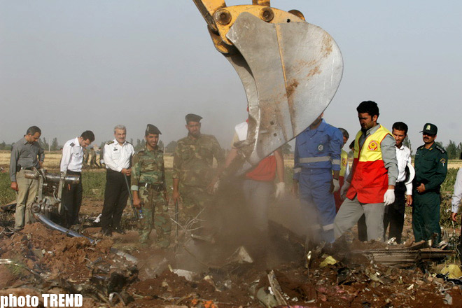 Tu-154 plane with 168 people on the board crashed in Iran - PHOTOSESSION - Gallery Image