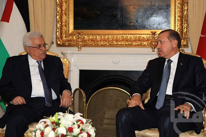 Turkish PM meets Palestinian President (ADDED)