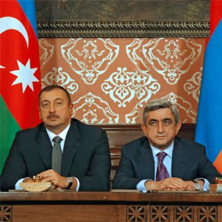 Presidents of Azerbaijan and Armenia held talks in Moscow on the peaceful settlement of the Nagorno Karabakh conflict