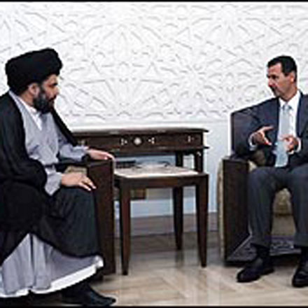 Iraqi Shiite leader meets with Syrian president