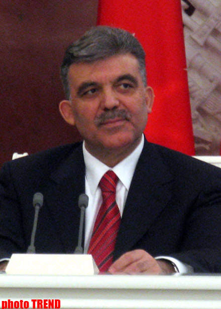 President Gul says opposing views can freely be expressed in Turkey